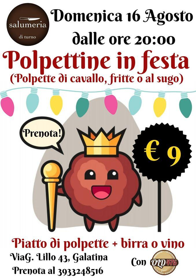 Polpettine in festa
